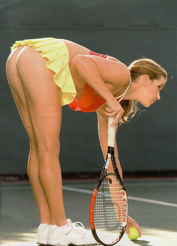 Tennis Female Players Nude