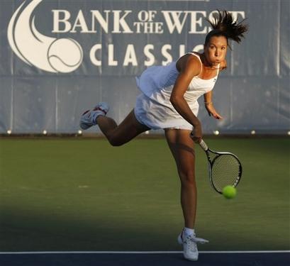 APTOPIX Stanford Tennis