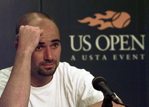 Agassi's Book Crystal Meth